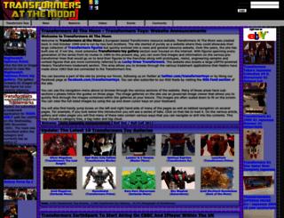 transformertoys.co.uk screenshot