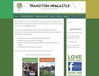 transitionnewcastle.org.au screenshot