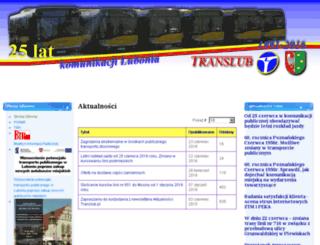 translub.pl screenshot