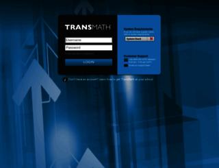 transmath.voyagersopris.com screenshot