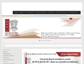 transparencia.congresomich.gob.mx screenshot