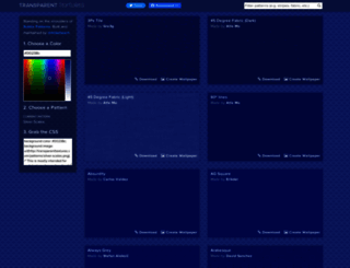transparenttextures.com screenshot