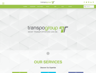 transpogroup.com screenshot