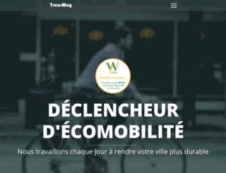 transportdoux.fr screenshot