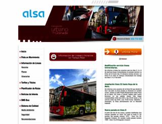 transportesrober.com screenshot