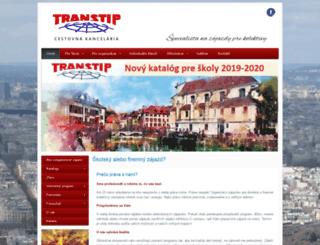 transtip.sk screenshot