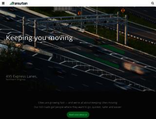 transurban.com.au screenshot