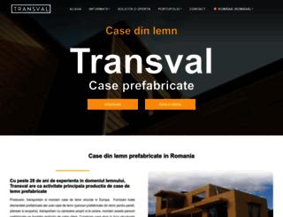 transval.ro screenshot