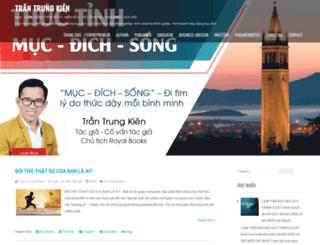 trantrungkien.com screenshot