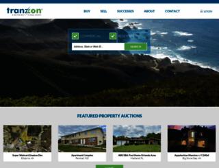 tranzon.com screenshot