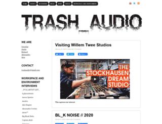 trashaudio.com screenshot