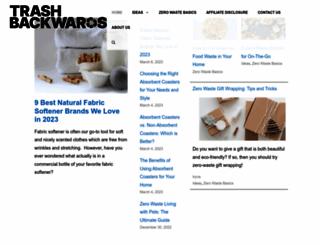 trashbackwards.com screenshot