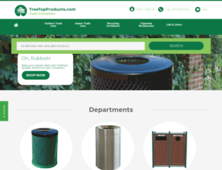 trashcontainers.com screenshot