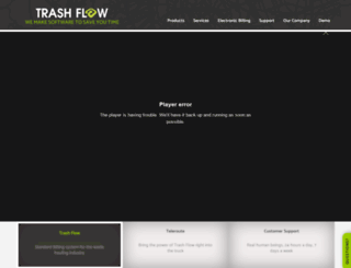 trashflow.com screenshot