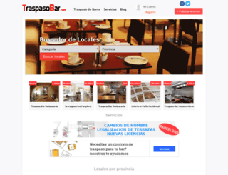 traspasobar.com screenshot