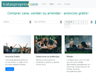 trataoproprio.com screenshot