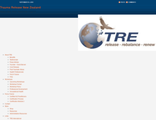 traumarelease.co.nz screenshot