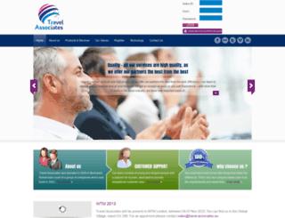 travel-associates.eu screenshot