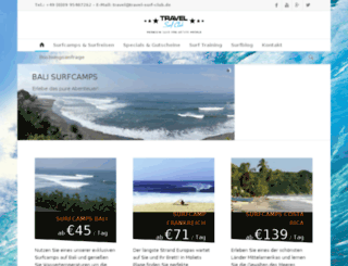 travel-surf-club.de screenshot