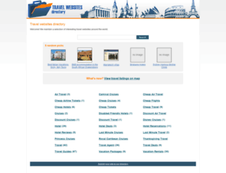 travel-websites-directory.com screenshot