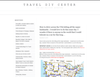 travel.diycenter.net screenshot