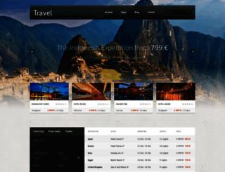 travel.equiet.sk screenshot