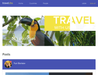 travel.fm screenshot