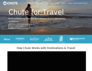 travel.getchute.com screenshot