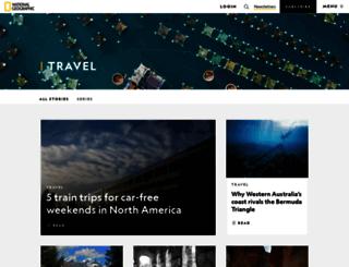 travel.nationalgeographic.com screenshot