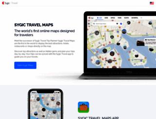 travel.sygic.com screenshot