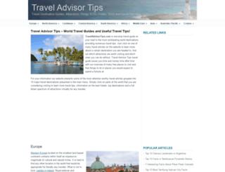 traveladvisortips.com screenshot