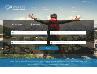 travelandaid.com screenshot