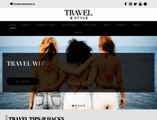 travelandstyle.ca screenshot