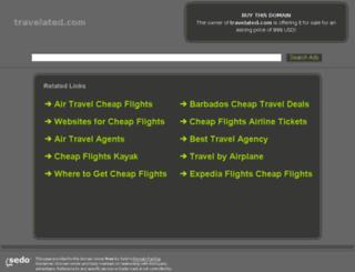 travelated.com screenshot