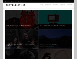travelblather.com screenshot