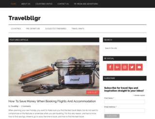 travelbllgr.com screenshot