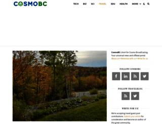 travelblog.cosmobc.com screenshot