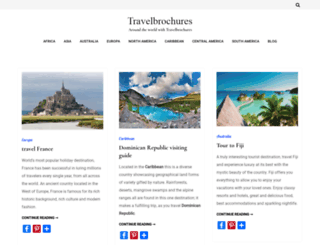 travelbrochures.org screenshot
