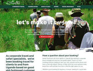 travelcare.co.ug screenshot