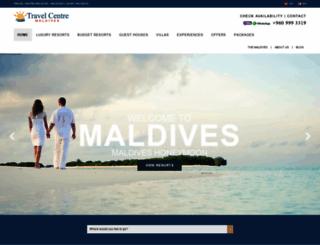 travelcentremaldives.com screenshot