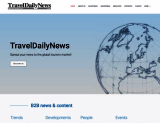 traveldailynews.net screenshot