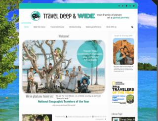 traveldeepandwide.com screenshot