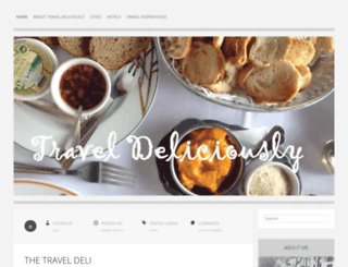 traveldeliciously.wordpress.com screenshot