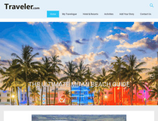 traveler.com screenshot