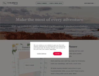 travelersuniverse.com screenshot