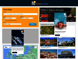 traveleurope.it screenshot