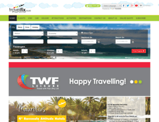 travelfix.co.za screenshot