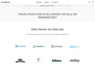 travelfront.com screenshot