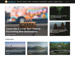 travelfuntu.com screenshot