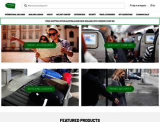 travelgear.com.au screenshot
